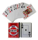 Plastic Coated Jumbo Face Playing Cards