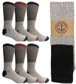 Yacht & Smith Men's Winter Thermal Tube Socks Size 10-13