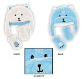 Wholesale Sock Deals 24 Pack Of WSD Baby Boy's and Girl's Fleece Lined Fuzzy Hat & Mitten Sets - Bear Designs