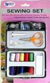 Travel and Home Sewing Set in Plastic Case