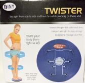 Twister Twist Your way to a Trimmer Waist Exercise