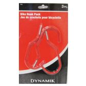3 PIECE BIKE HOOK PACK