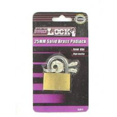 25MM Solid brass padlock