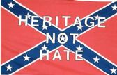 Rebel Confederate Flag Heritage not Hate