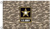Licensed US Army Digital Camo Flags