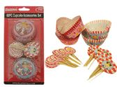60 Piece Cupcake Decorating Set