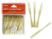 100pc Cocktail Fork Picks