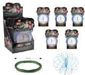 Flow Rings Kinetic Spring Toy Glitter--Display Box