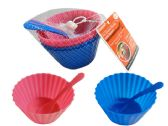 Ice Cream Cup 4pc+4pc Spoon