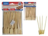 50pc Paddle Skewer Picks