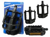 2 Piece Bicycle Pedals With Reflectors
