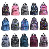 """Wholesale 13"""" Kids Track Mini Backpack in a Color Assortment"""