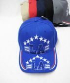 """Los Angeles"" Base ball Cap In Assorted Colors With Stars"