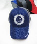 """Los Angeles"" Base ball Cap With LA Coin Shaped Logo"