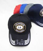 """Los Angeles"" Base Ball Cap With Coin Type Logo"