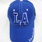 """Los Angeles"" Base Ball Cap Blue Only"