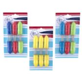 6 Pack Corn Skewers with Soft Grip Handle