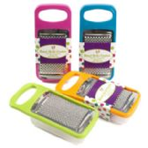 7x3.5in Handheld Grater W/storage Cup