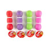 5.5 Inch 4 Colors Dog Toy Latex Dumbell W/squeaker In Pdq