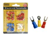 40PC ELECTRICAL TERMINALS in 3 Asst Colors