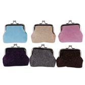 Ladies Coin Purse Assorted Colors