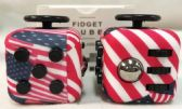 Wholesale American Flag Pattern Fidget Cube