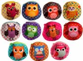 Wholesale Polka Dot Cartoon Owl Coin Purse Assorted