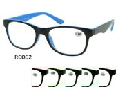 Two Tone Plastic Reading Glasses Assorted