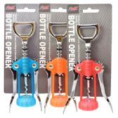 Corkscrew & Cap Opener Assorted Colors