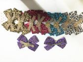 Girls Leopard Assorted Colored Hair Clip