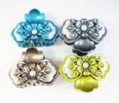 Hair Clips/ Color Assorted With Studs