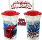 Spiderman Travel Cups