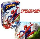 Spiderman Mini Jigsaw Puzzle Tins