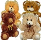 "10.5"" Plush Natural Colored Bears"