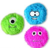 "3"" Plush Fuzzy Monsters"