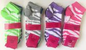 "Woman ""WAVE""short socks/color assorted"