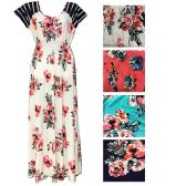 Lady's Rose Summer Dress/Color size assorted