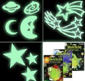 Glow in the Dark Celestial Wall Decals