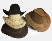 Cow Boy Hat/ Color Assorted