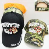 Shut Up Hunt Baseball Cap Color Assorted