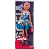 """12"""" BENDABLE SOFIA DOLL W/ ACCSS IN WINDOW BOX, 3 ASSRT"""