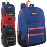 High Trails 18 Inch Double Zip Backpack