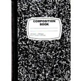 Black Composition Notebook - 100 Sheets