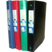 "Flexible Poly Binder - 1"" - Solid Colors"
