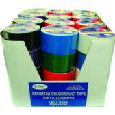 "Duct Tape - Assorted 6 colors - 1.89""(2"") x 10 yards"