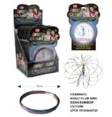 Flow Rings Kinetic Spring Toy Rainbow