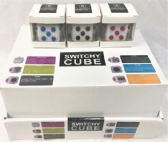 Wholesale 24 pcs display fidget cubes assorted colored