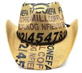 Drifter Cowboy Hats With/ Rope Accent Band - One Size Fits Most