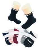 Ladies Fashion Socks Pearls & Beads