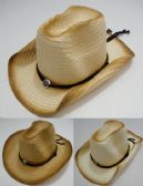 Cowboy Hat With Medallion [distressed Look]